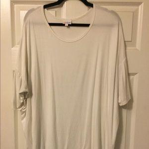 LuLaRoe Irma White XL